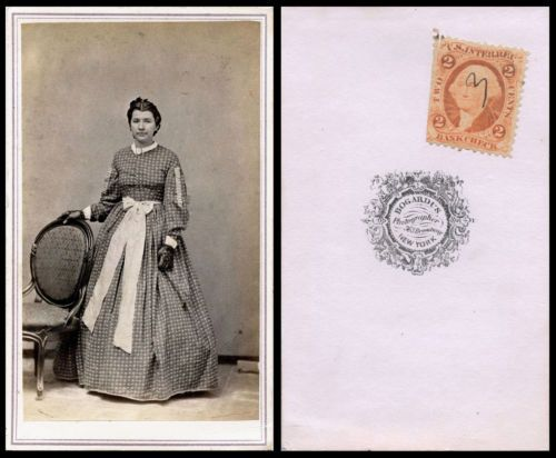 Civil War Era CDV Photo Portrait of A Beautiful Young Woman Bogardus New York | eBay