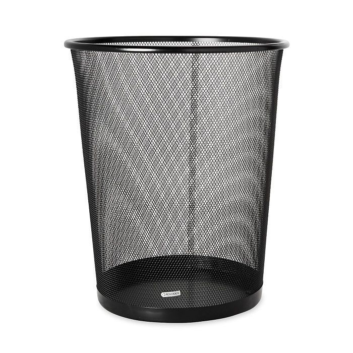 36 Qt Large Open Wastebasket Entrancing This Mesh Round Wastebasket Has Is Durable And Add Good Looks Inspiration