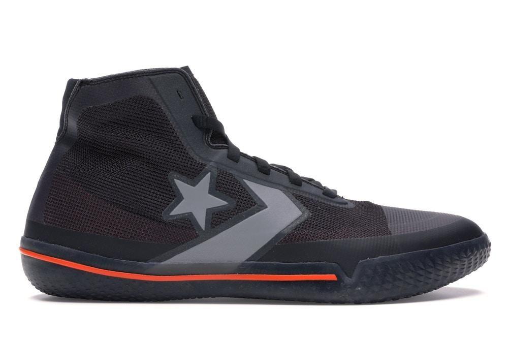 NEW Converse All Star Pro BB Black Silver Orange | Zapatos