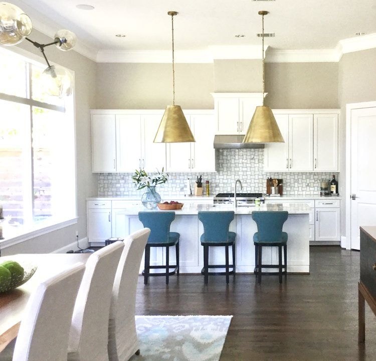 7 Considerations For Kitchen Island Pendant Lighting Selection Designed White Kitchen Remodeling Tuscan Kitchen Kitchen Design