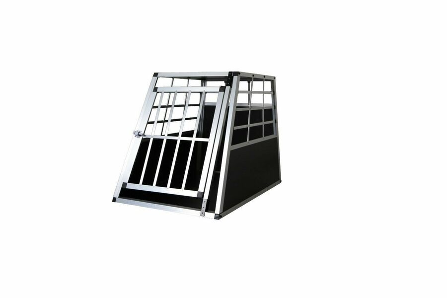 Best Dog Pet Puppy Aluminium Cage Transport Crate Car Travel Carrier Box Kennel Ad Ad Aluminium Cag Pet Puppy Travel Carrier
