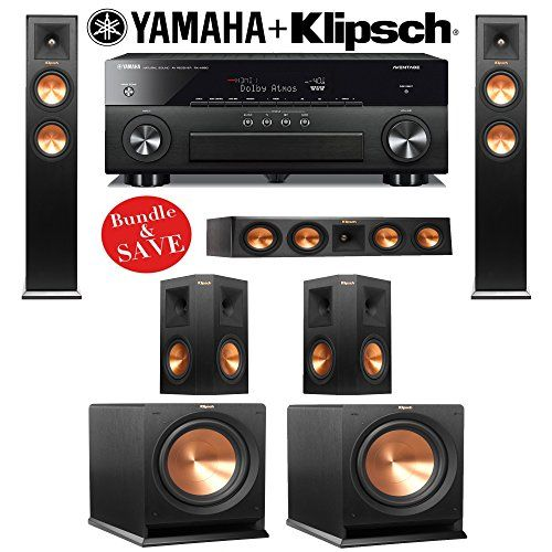 Introducing Klipsch RP260F 52 Reference Premiere Home Theater System ...