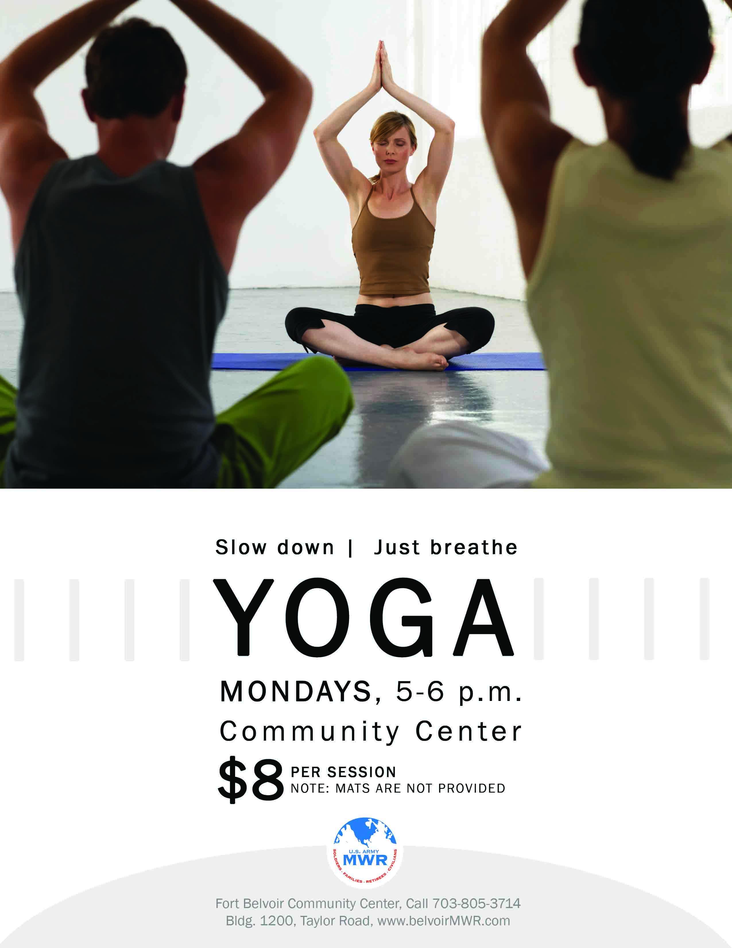 yoga flyer