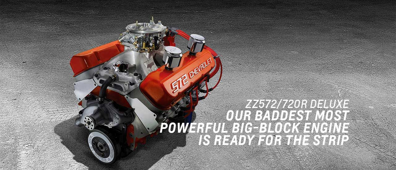 ZZ 572 720R Big Block Crate Engine | 720HP! | 12.0:1 compression ...