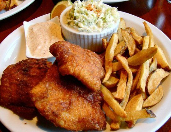 d62d0a75455cb Buffalo Wings · Bucket Hat · The Fish House  Spicy Cajun Fish and Chips  Fish House
