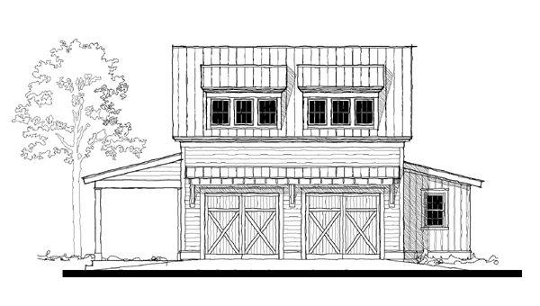 G0042 House Plan G0042 Design from Allison Ramsey Architects – Allison Ramsey Garage Plans