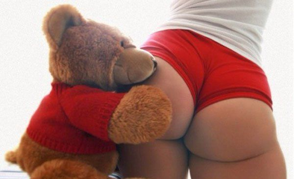naked girls humping their tedy bears