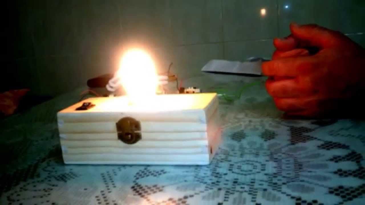 Sistema de iluminaciòn automatica para personas sin energia electrica