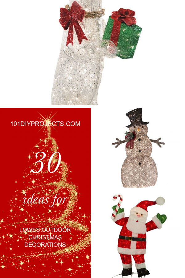 30 Ideas For Lowes Outdoor Christmas Decorations Outdoor Christmas Outdoor Christmas Decorations Christmas Party Themes