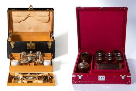 Custom Tea Trunk by Louis Vuitton