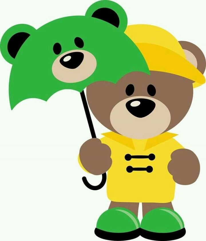 Usa El Paraguas Manualidades Imagenes Lindas Y Tiernas Figuras Infantiles