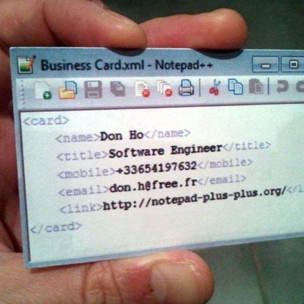 How to Design a Killer Transparent Business Card • AR Calgary ...