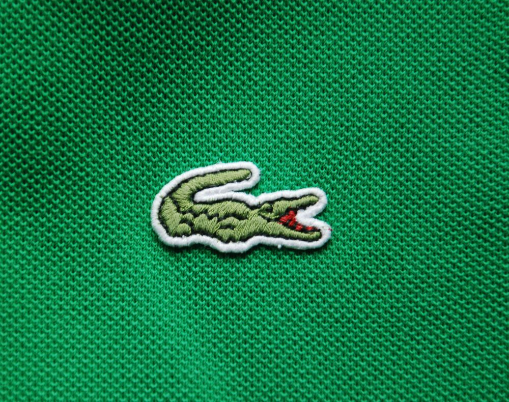 Vintage Lacoste Devanlay Mens Polo Shirt Short Sleeve Green 5 L Casual Shirts For Men Lacoste Mens Shirts