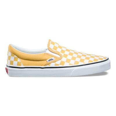 Checkerboard Slip On | Shop Shoes | Sapatos vans, Sapatos, Vans
