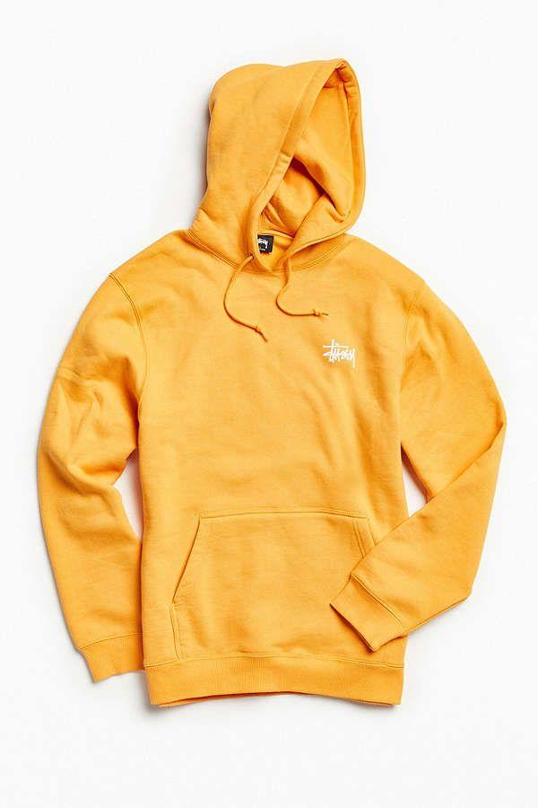 baf7841221d Slide View  3  Stussy Basic Logo Hoodie Sweatshirt
