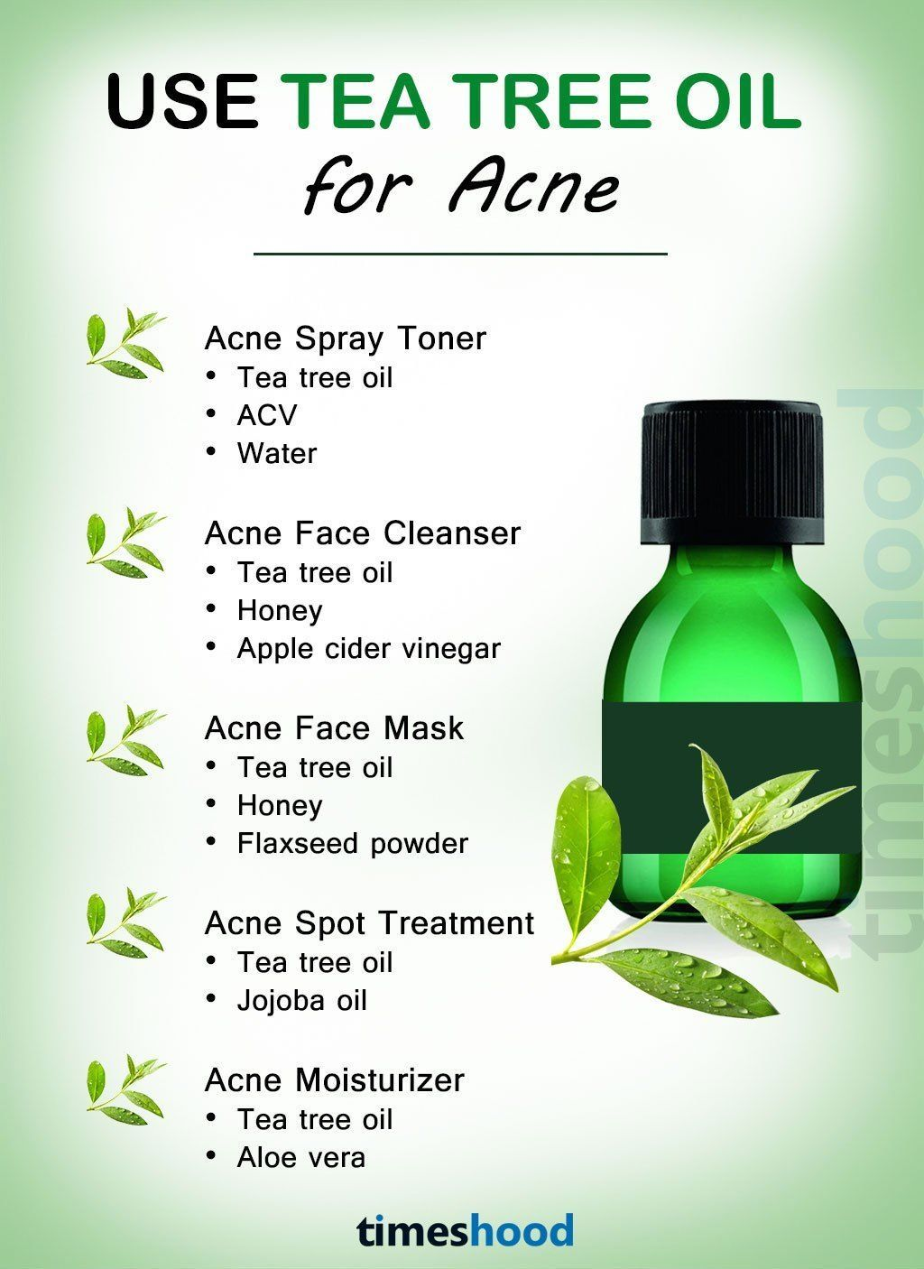 Use Tea Tree Oil For Acne And Pimples How To Use Tea Tree Oil To Get Rid Of Acne And Pimples Fast A Tea Tree Oil For Acne How To Get