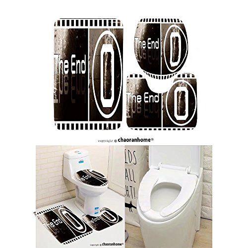 Chaoranhome Pattern Bath Mat Set3 Piece Bathroom Matsdesign The Cool 3 Piece Bathroom Rug Sets Design Inspiration