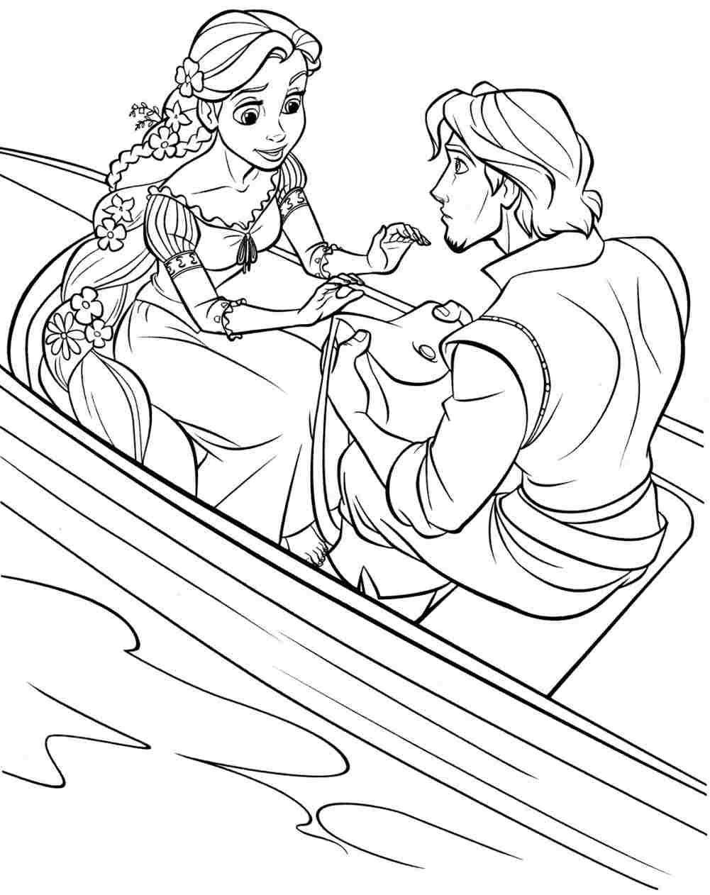 disney tangled coloring pages printable | Printable Free Disney ...