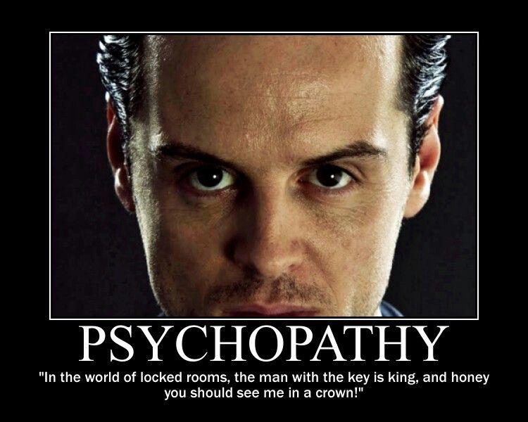 Moriarty. Perfect evil. awesome acting!!