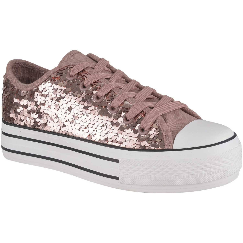 Zapatilla de Mujer Just4u Rose Gold zc #Zapatillas #Mujer