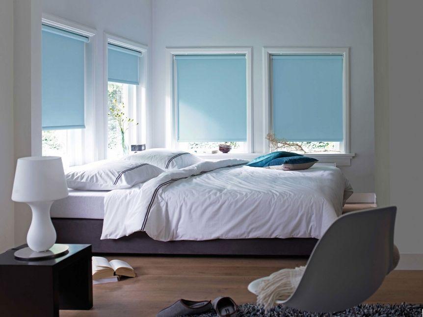 Rolgordijnen Slaapkamer 86 : Rolgordijnen kw wonen je schijnt rustig en kalm te worden van de