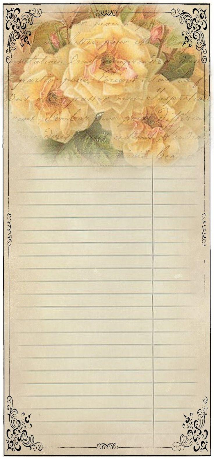 Написать, заметки открытки