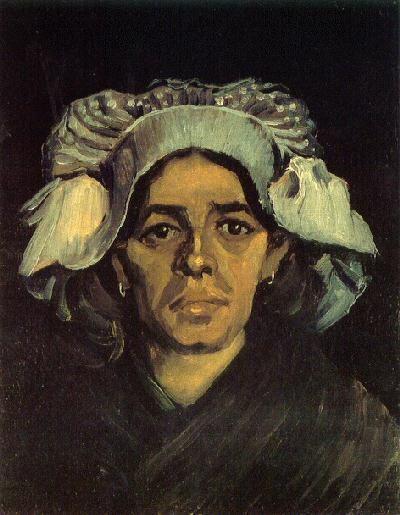 Head Of A Woman Version 3 Van Gogh Art Vincent Van Gogh Van
