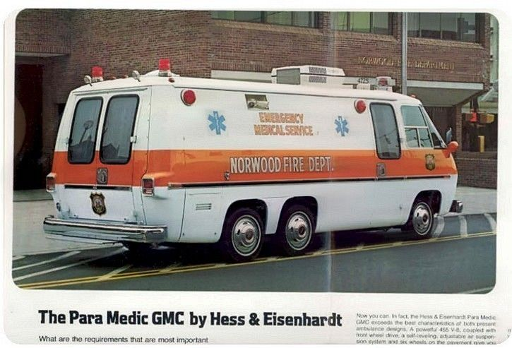For National EMS Week: A Look at Yesterday's Ambulances | BestRide