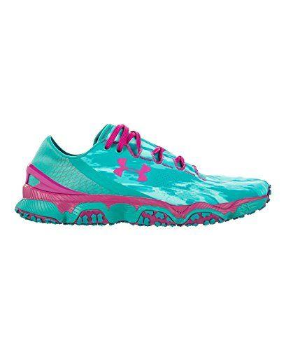 3ef67512eeb9f Amazon.com | Womens Under Armour Speedform XC, Aqueduct/Blue, 7.5 B | Trail  Running. Trail Shoes ...