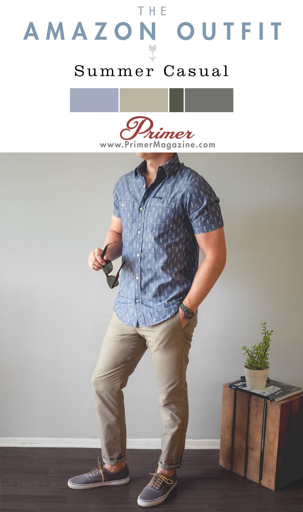The amazon outfit summer casual moda masculina pinterest