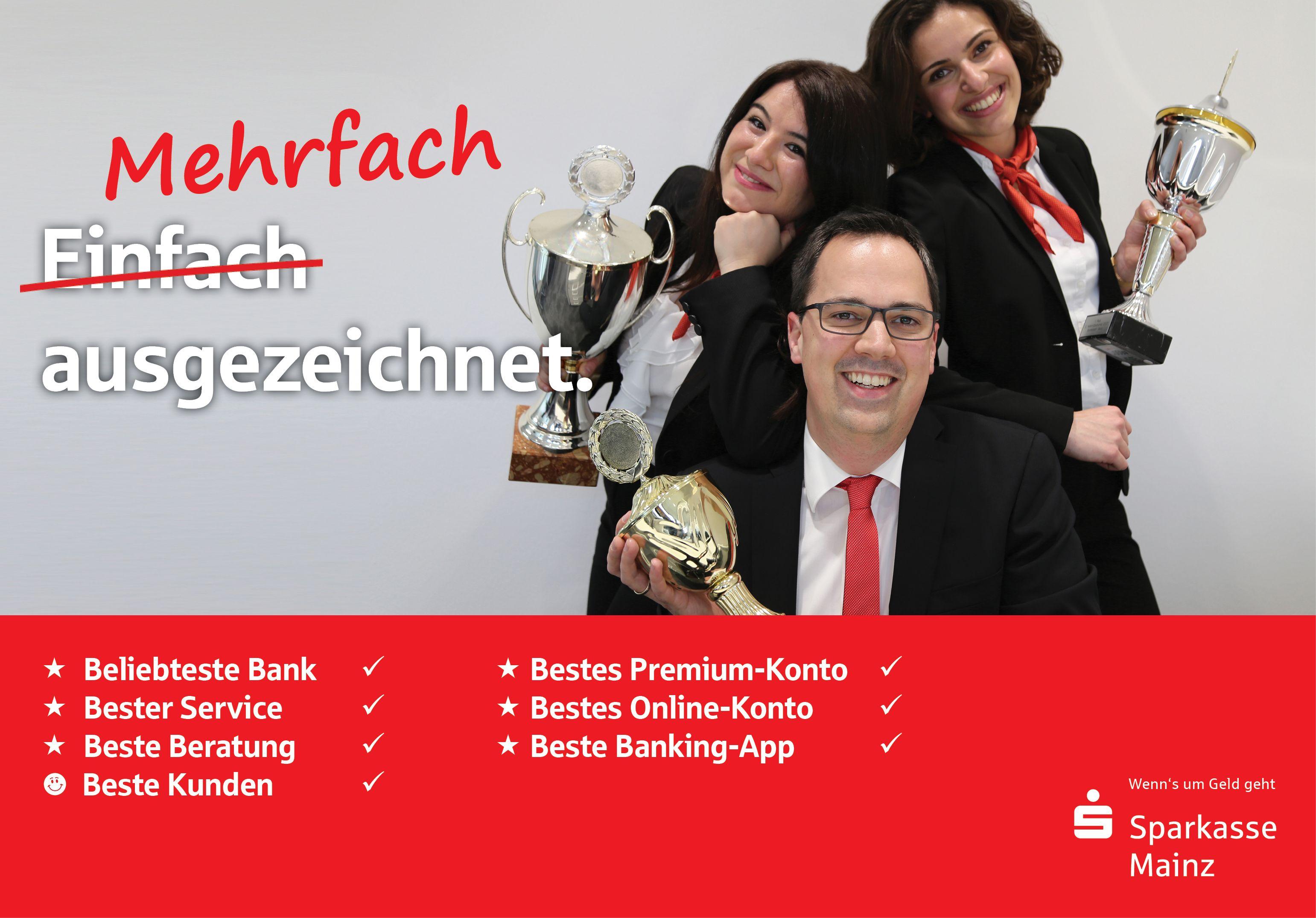 Modernes Banking Muss Vor Allem Eines Zu Ihnen Passen Daher Bieten Wir Bei Der Sparkasse Mainz Nicht Nur Ausgezeichnete Sparkasse Auszeichnen Preise Gewinnen