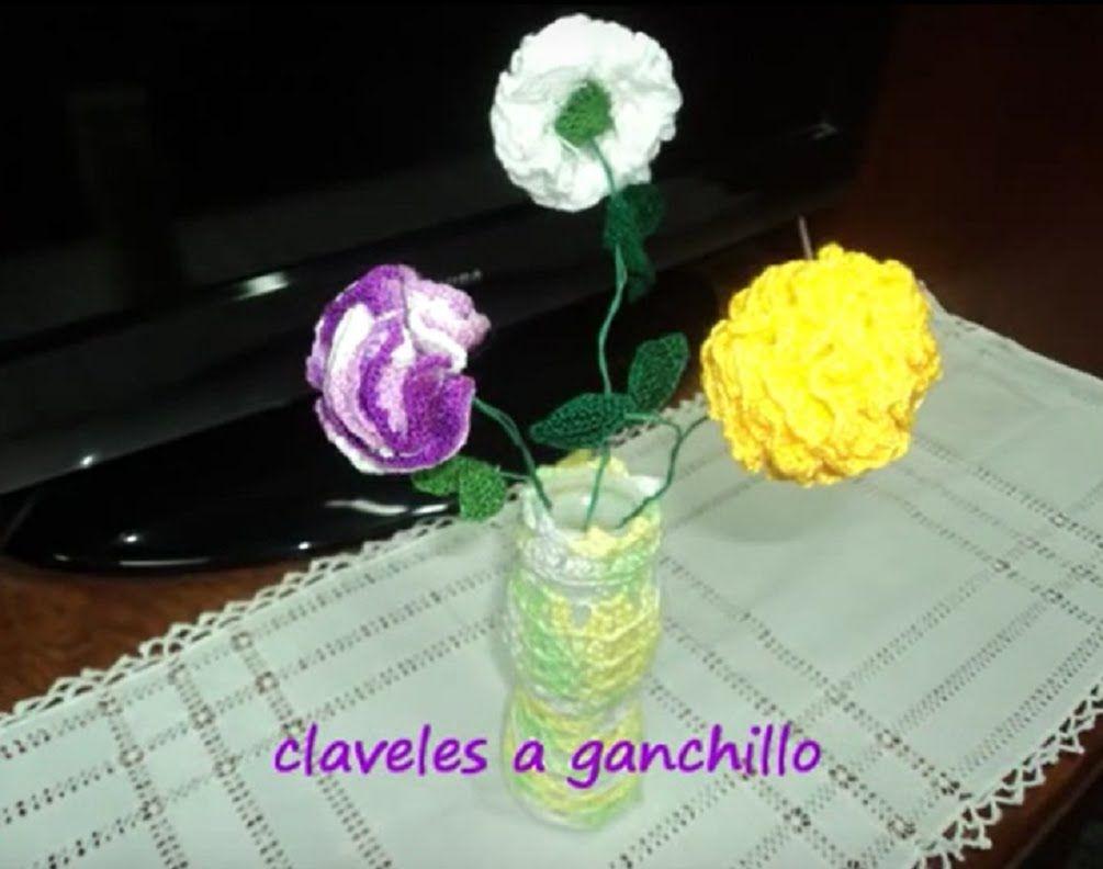 CLAVEL A GANCHILLO ((TUTORIAL))