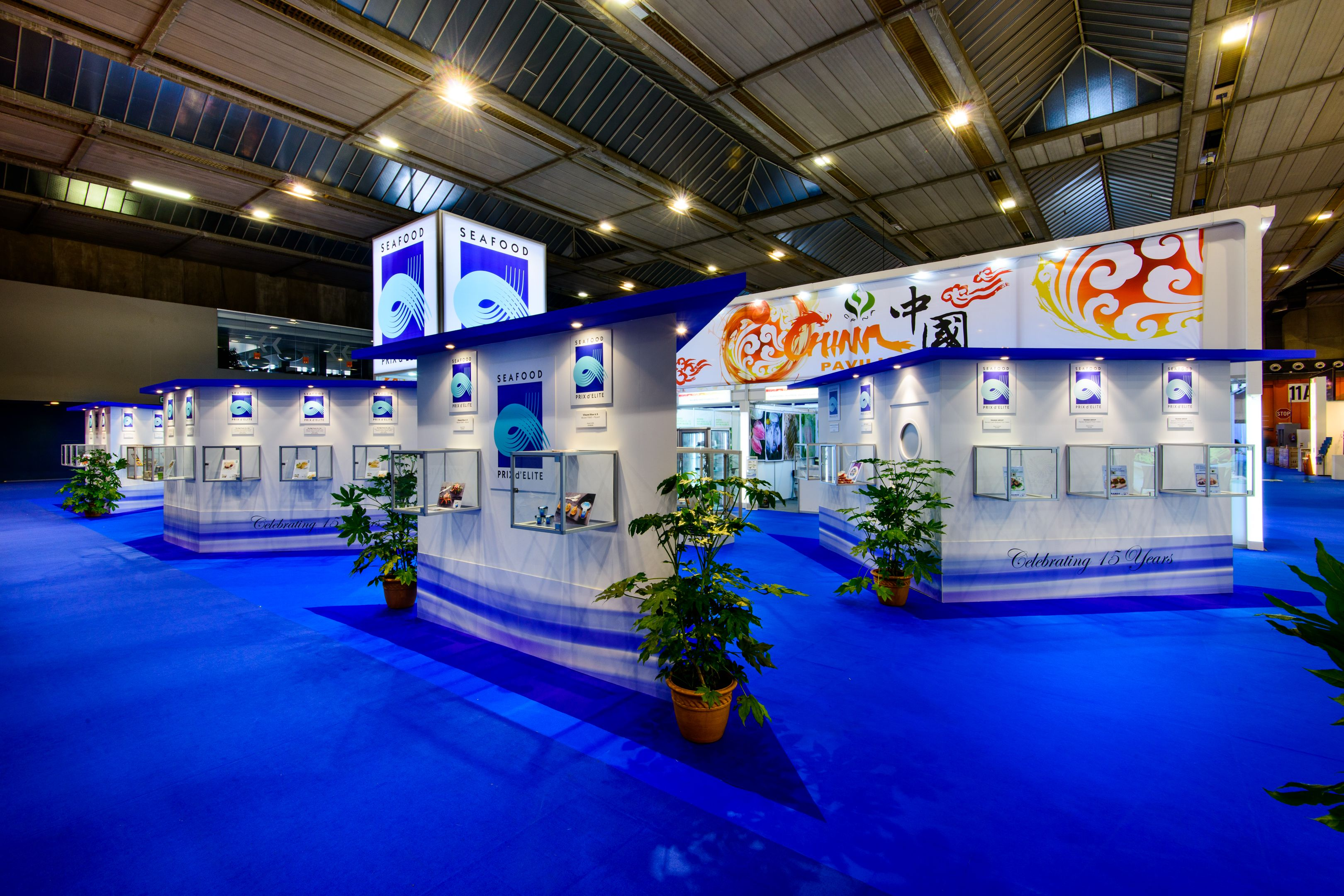 Prix D'Elite @ Sea Food Expo 15 GES Design