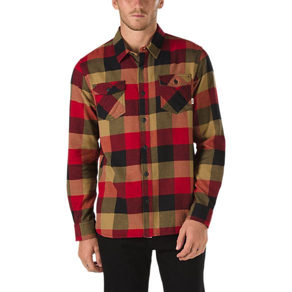 """Mens Check Shirt Slim Fit Brushed Flannel Fitted Long Sleeved Shirt Top 36/""""-48/"""""""