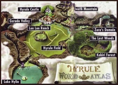 Hyrule world atlas zelda pinterest video games hyrule world atlas gumiabroncs Gallery
