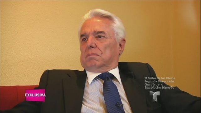 Enrique Guzmán habla de su salud y su carrera (VIDEO)