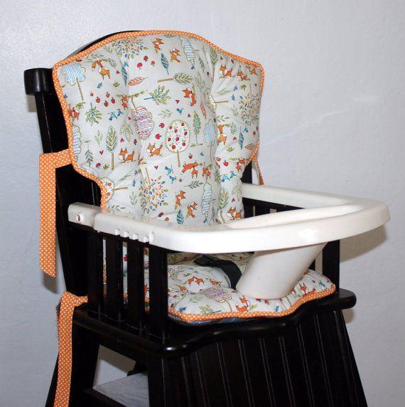 Custom Eddie Bauer Fox Playground High Chair By Mayberryandmain