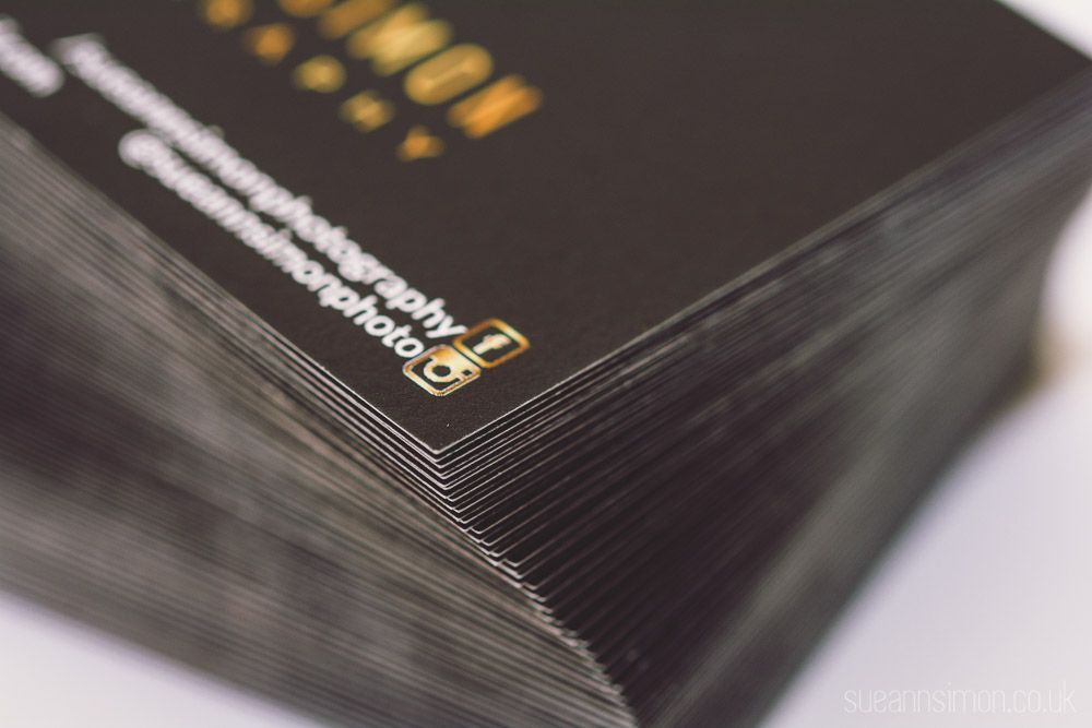 Moo Luxe Business Cards Review + DIY Gold Foil Edge Photographers - business review
