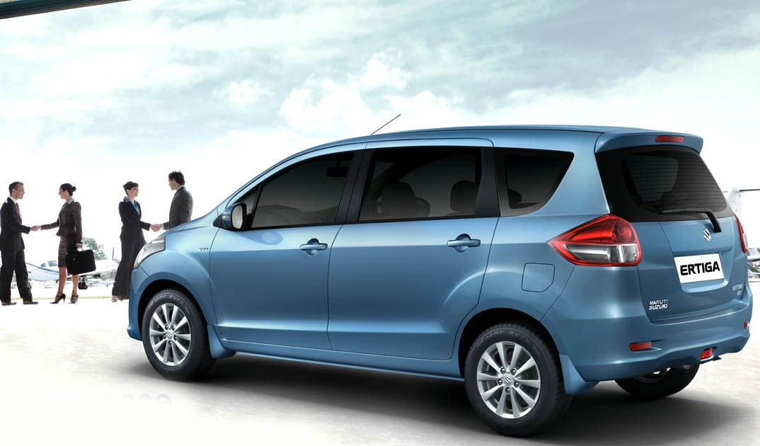 Maruti Suzuki Ertiga Petrol The Exterior Of The Ertiga Has Been Kept In Line With Modern Preferences And Also What Would Typically Upcoming Cars Suzuki Car