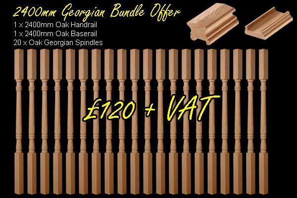 Best Oak 2 4M Ohr Obr Bundle Offer 20 Georgian Spindles 400 x 300