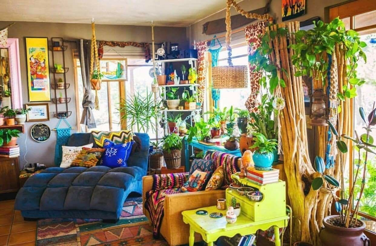 Astounding 30 Best Hippie Bohemian Living Room Design Ideas That Can Make You Happy Https D Hippie Living Room Hippie Home Decor Living Room Decor Curtains