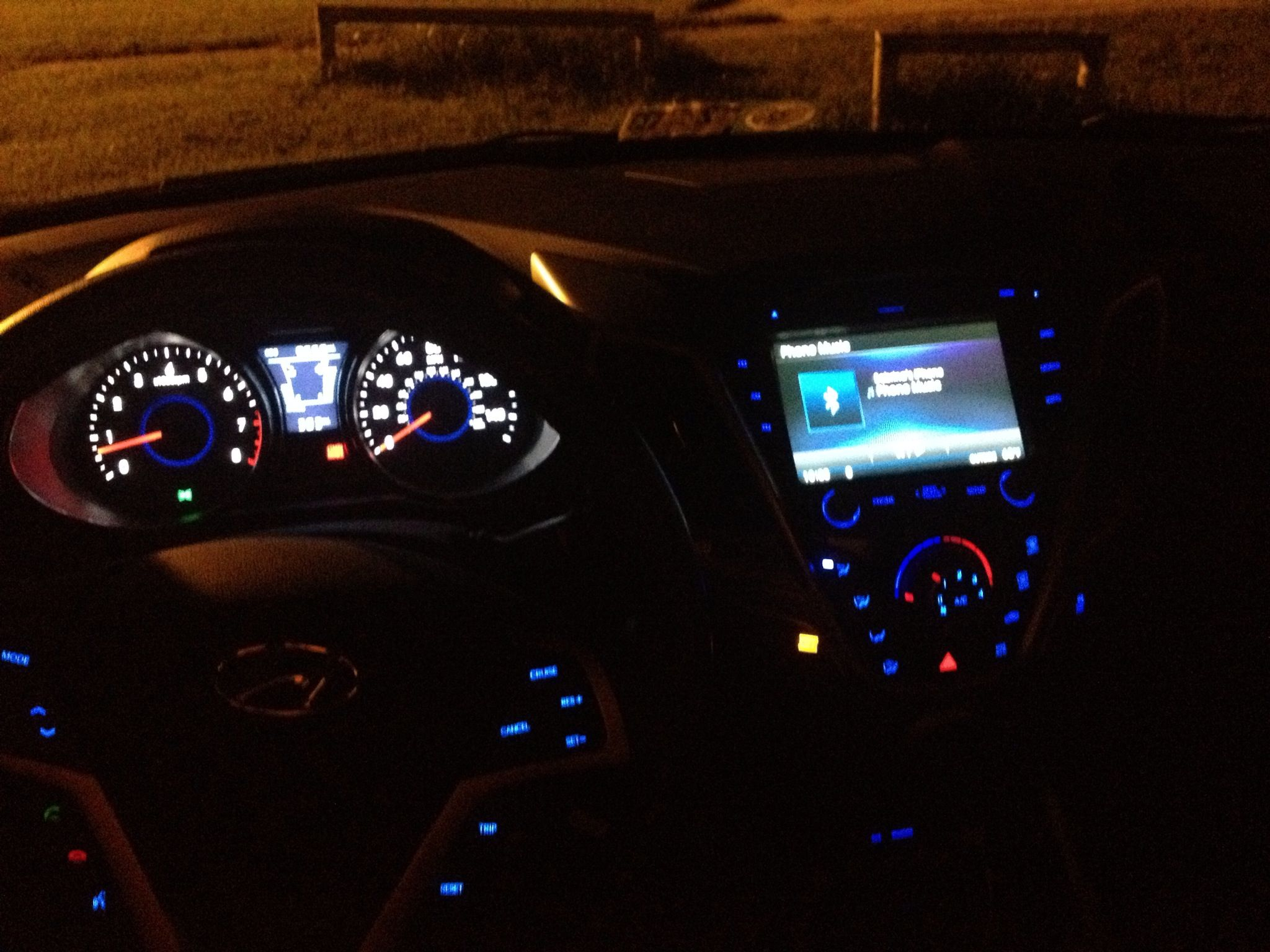 In side of veloster