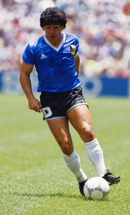 Maradona: One of footballs greatest.