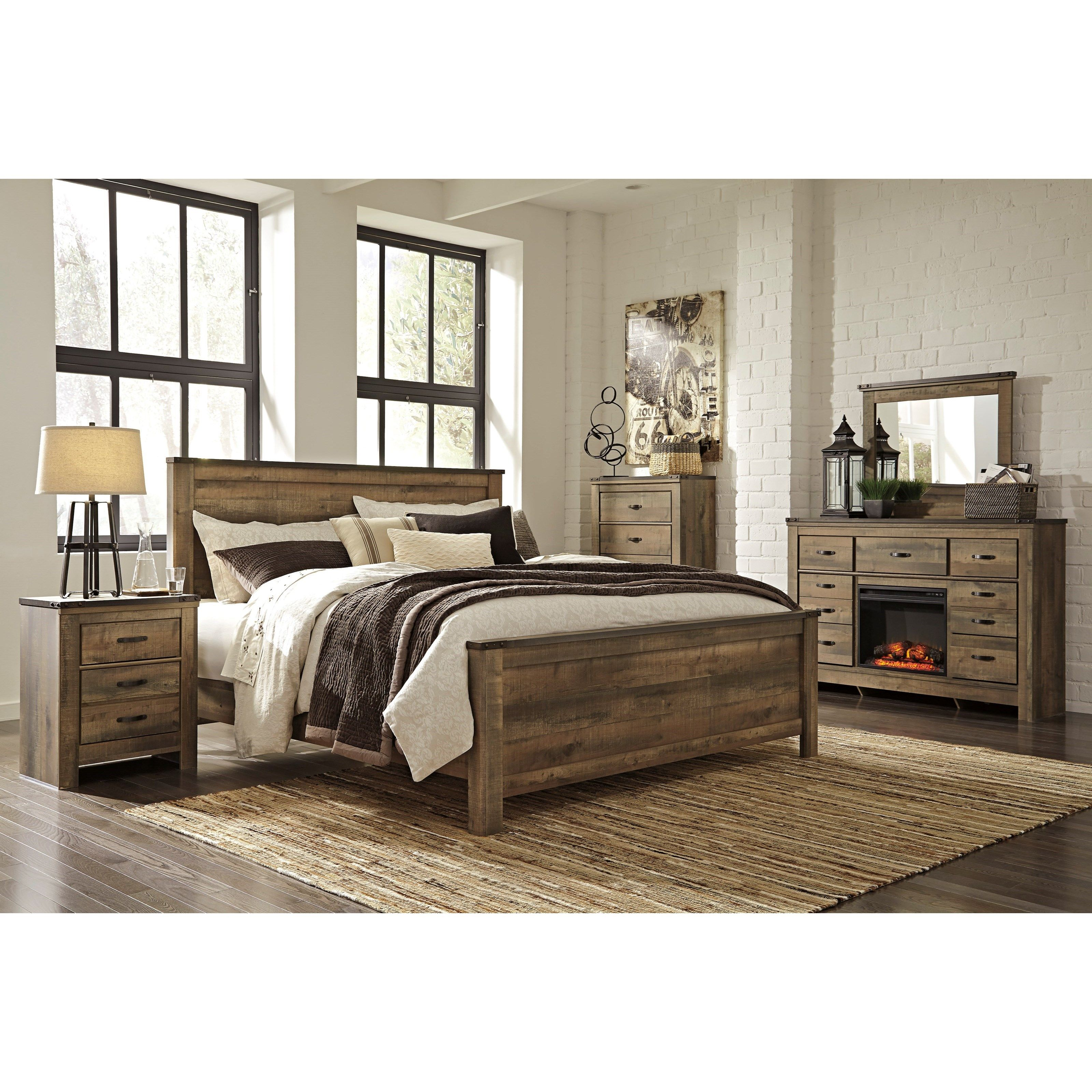 Trinell King Bedroom Group By Signature Design By Ashley At Wayside Furniture Bedroom Furniture Sets Bedroom Sets Queen King Bedroom Sets