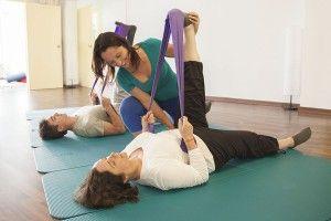Pilates aéreo y terapéutico