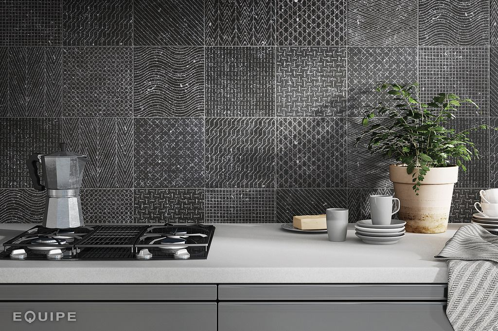 Coralstone Deco Gamut Black 20 X 20 Cm