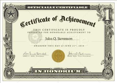 Doc650503 Military Certificate Templates Military certificate – Military Certificate Templates