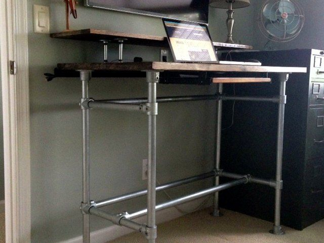 Using Pipe To Raise Tube Frame Bunk Bed