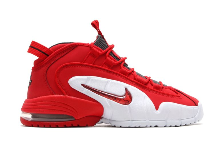 nike air max penny university red/black/white checkered