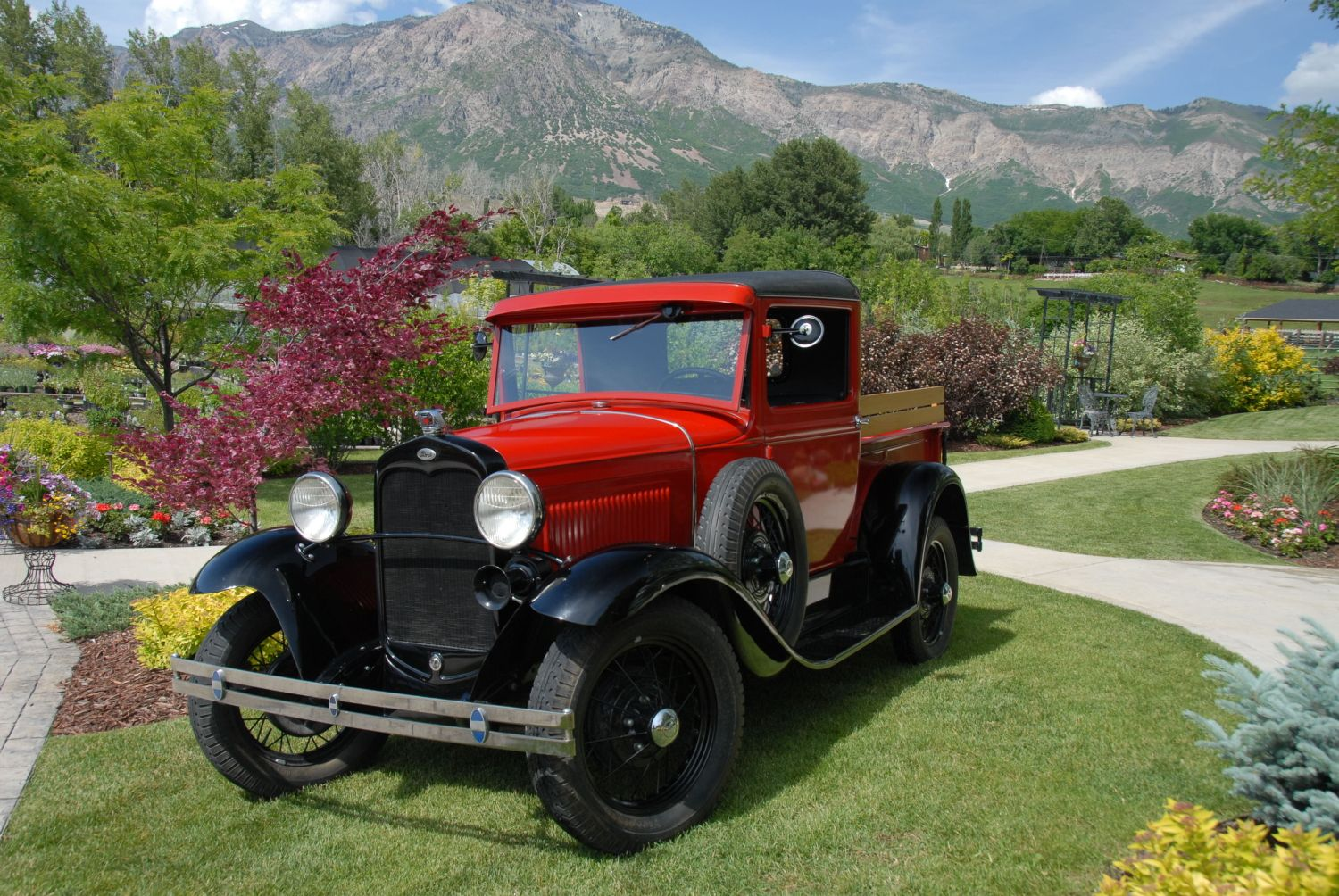 1931 Model \'A\' Ford Truck SHOP SAFE! THIS CAR, AND ANY OTHER CAR YOU ...